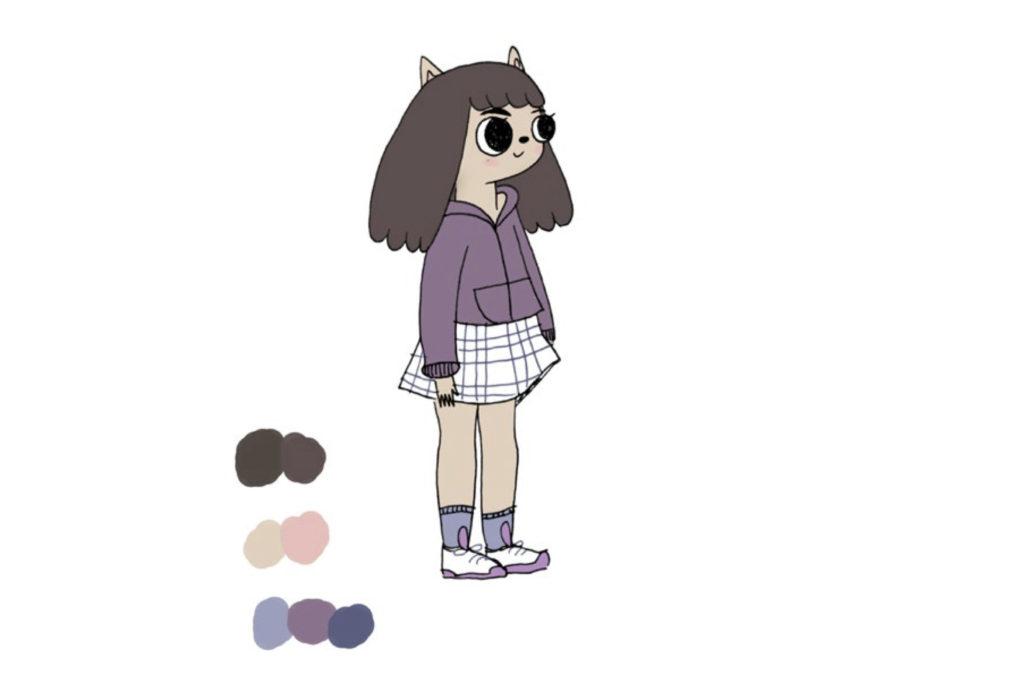 Summer Camp Island character design Cartoon Network